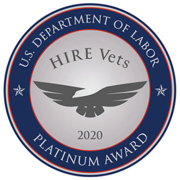 Epsilon, Inc. Receives 2020 Hire Vets Platinum Medallion Award from U.S. Department of Labor